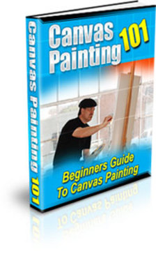 Product picture CanvasPainting101-learn to be an artist